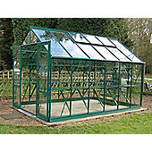 Rhino Premium Greenhouse – 8x12 - Bay Tree Green Finish