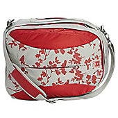 Babymule Original Baby Changing Bag Red/Grey