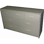 Oestergaard Connie 3 Over 4 Drawer Chest - White lacquered