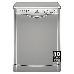 Indesit Dishwasher, DFG15B1S, Silver