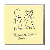 Grooms Mother Wedding Card and Gift Tag
