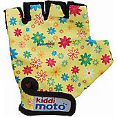 Kiddimoto Gloves Flowers (Medium)