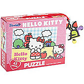 Hello Kitty Puzzle - 45 Pieces