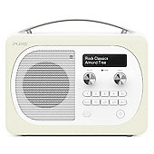 Pure Evoke D4 Mio Bluetooth DAB/FM Radio (Almond)