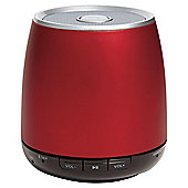 Groov-e Boom Bluetooth Speaker Ruby