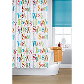 Printed Shower Curtain - Multi