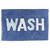 Tesco Wash Slogan Bath Mat