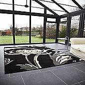 Retro Classics Loretta Black/Grey 160x225 cm Rug