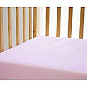 2 Pack Cute Baby Cotbed Fitted Sheets Pink Jersey 100% cotton