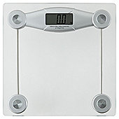Clear Glass Electronic Bathroom Scale