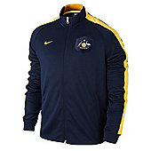 2014-15 Australia Nike Authentic N98 Jacket (Navy) - Navy