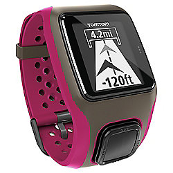 TomTom Multisport GPS Watch - Dark Pink