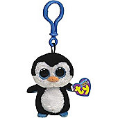 "Ty Beanie Boo Boos 3"" Key Clip - Waddles the Penguin"