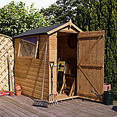 7ft x 5ft Premier Tongue & Groove Apex Shed Single Door