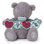 Me to You Tatty Teddy Bear holding Love Banner