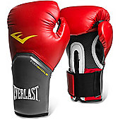 Everlast Pro Style Elite Training Boxing Gloves - Red