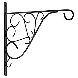 "Tesco 12"" Decorative Hanging Basket Bracket"