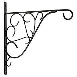 "Tesco 12"" Decorative Hanging Basket Bracket"