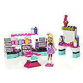 Mega Bloks Barbie Build 'n Play Beauty Kiosk