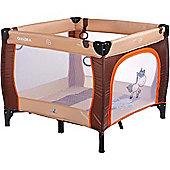Caretero Quadra Playpen (Brown)
