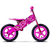 Caretero Zap Wooden Balance Bike (Pink)