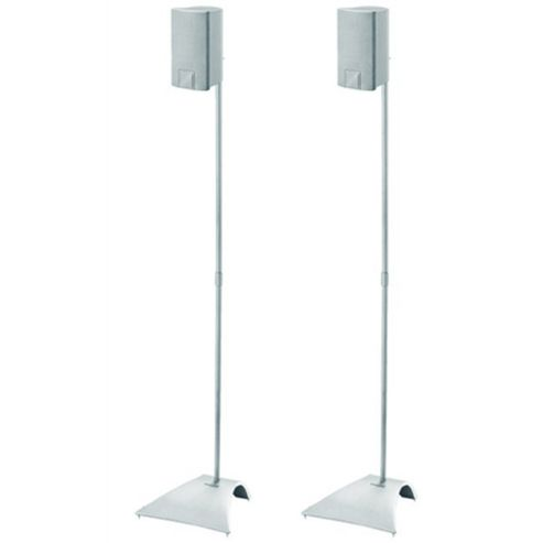 Vogel s Pair of Silver Speaker Stands