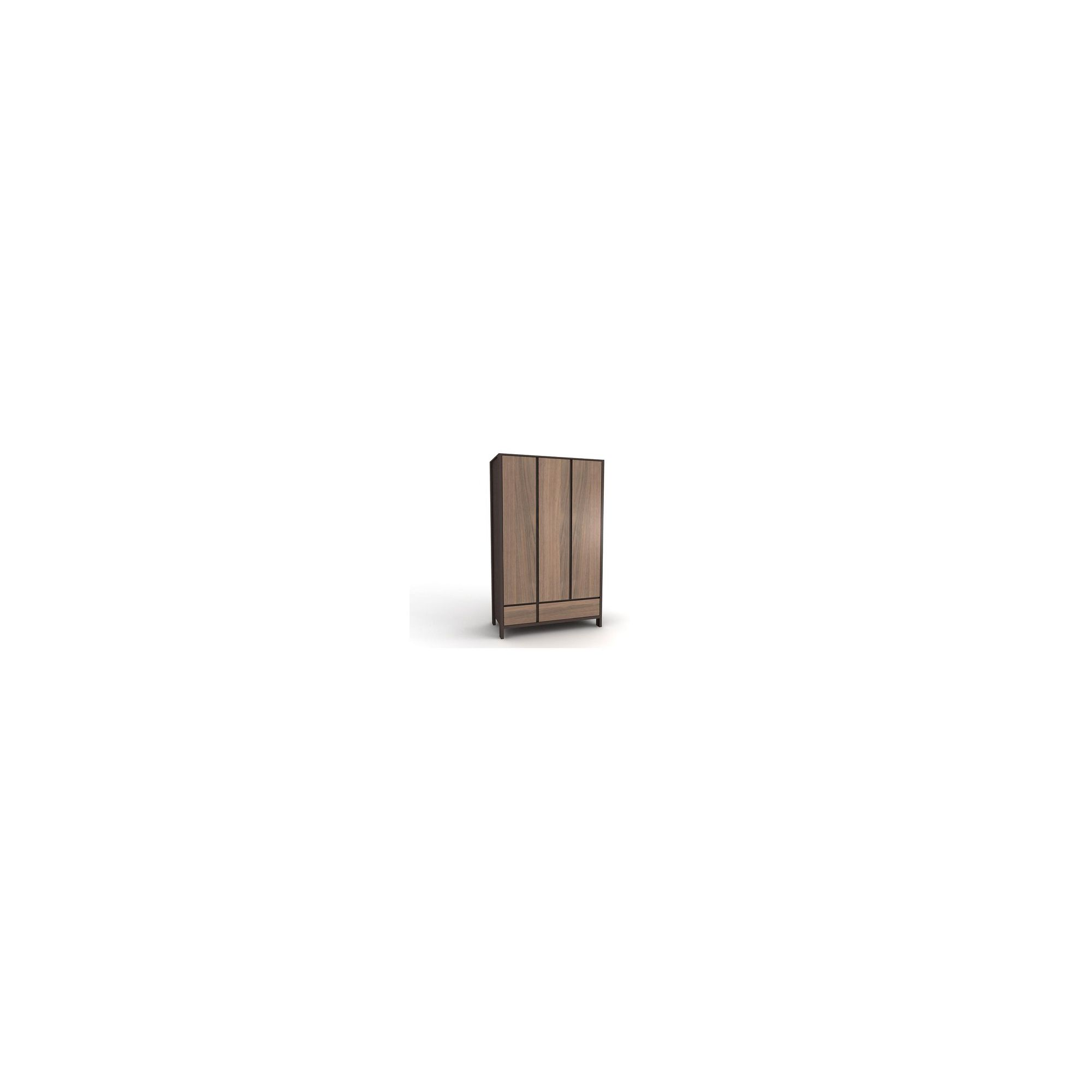 Urbane Designs Tokyo 3 Door 2 Drawer Wardrobe at Tesco Direct