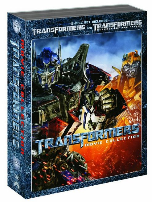 Transformers 1&2 Double Pack (DVD Boxset)