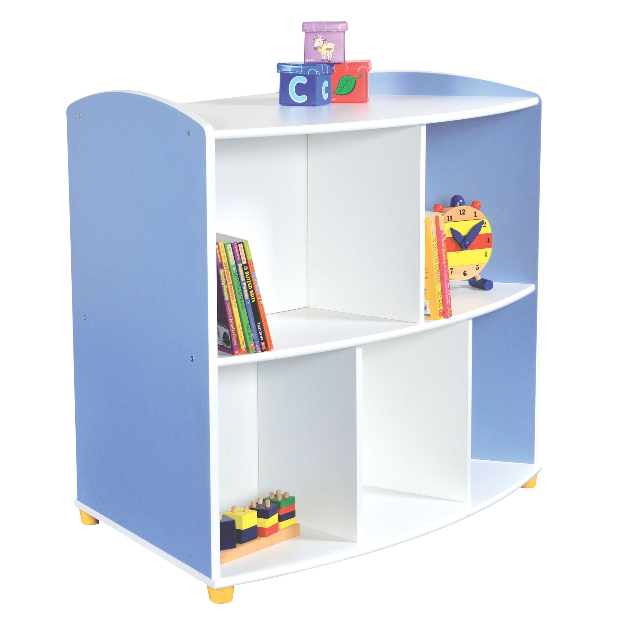 Liberty House Toys Elite Double Sided Curved Unit with 2 Shelves at Tesco Direct