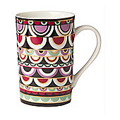 Pied A Terre Porcelain Persia Jewels Mug In Multi New