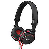 Sony MDR-ZX600R Overhead Headphones with Aluminium Finish