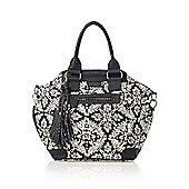 Isoki Bucket Changing Bag Princess Ikat