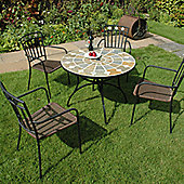 Europa Leisure Alicante 5 Piece Dining Set