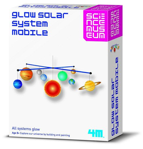 Science Museum Glow Solar System Mobile