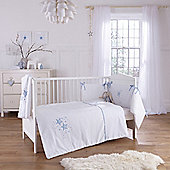 Clair De Lune Stardust 3 Piece Bedding Set - Blue