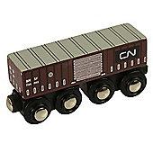 Bigjigs Wooden Railway CN Goods Wagon Train