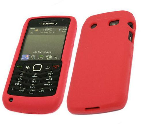 iTALKonline SoftSkin Silicone Case Red - For BlackBerry 9105
