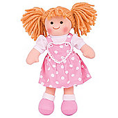 Bigjigs Toys 28cm Doll BJD020 Ruby