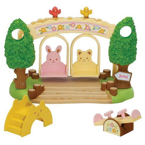 Sylvanian Families - Nursery Playground Swing