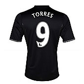 2013-14 Chelsea Third Shirt (Torres 9) - Kids - Black