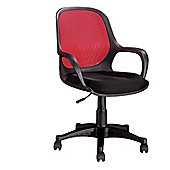 Hispanohogar Office Chair - Red