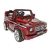 Kids Electric Car Mercedes Benz G55 12 Volt Red Gloss