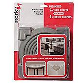Stork Child Care 2m Foam Edge Bumper Roll & 4 Corner Cushions