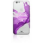 White Diamonds iPhone 6 Liquid Clip Case - Purple