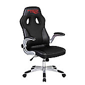 EarthCroc Black Office Racing Gaming Chair