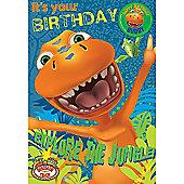 Dino Train Birthday Card