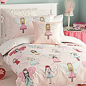 Fairy Dress Up, 100% Cotton Double Duvet