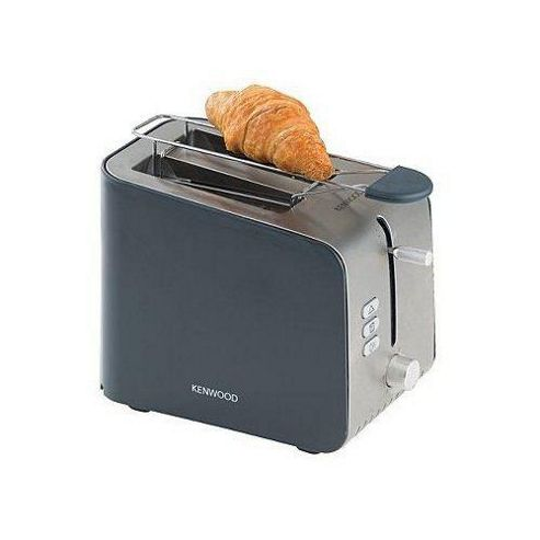Kenwood TTM150 KW15022 2-Slot Brushed Stainless Steel Toaster, Grey