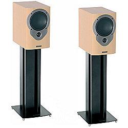 Pair of Black Mountech Speaker Stands Height 610mm