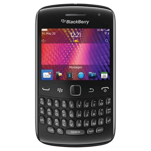 SIM Free Unlocked BlackBerry® Curve™ 9360 Black